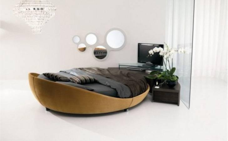 Round Italian Bed Design One Total Snapshots Modern