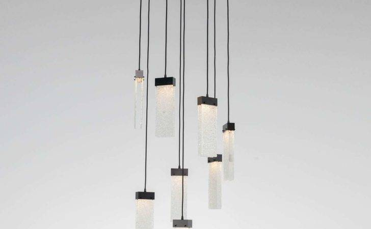 Round Led Multipoint Pendant Light Hammerton Studio Ylighting