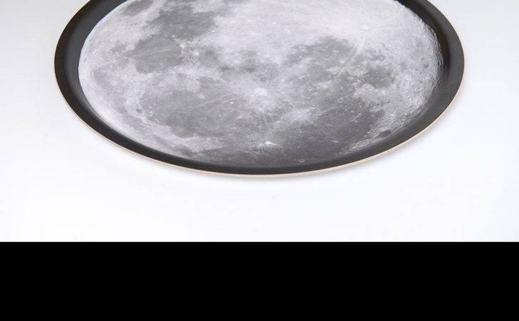 Round Moon Tray Medium Atomic Printworks