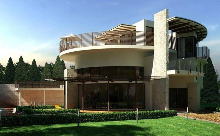 Round Shaped House Designs Samples