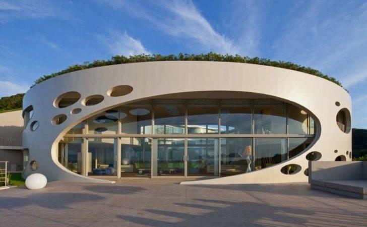 Round Villa Beautiful Exterior Design Ronde Home