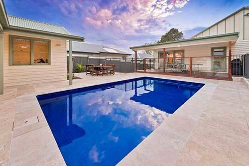 Rounded Rectangular Your Pool Says