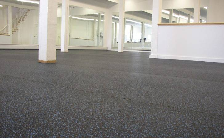 Rubber Flooring Decorating