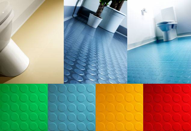 Rubber Flooring Heavy Duty Recycled