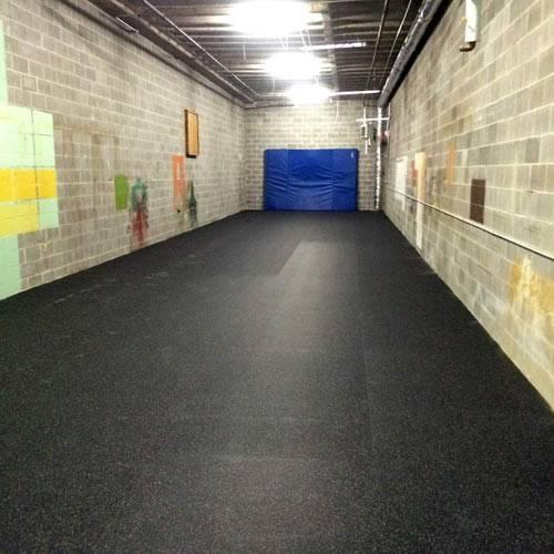 Rubber Flooring Rolls Inch Confetti Gym
