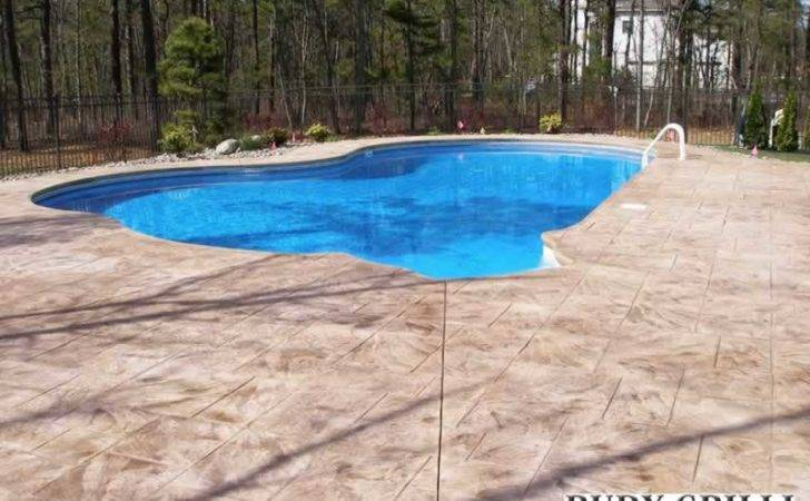 Rudy Grilli Concrete Work Stamped Decorative Pools