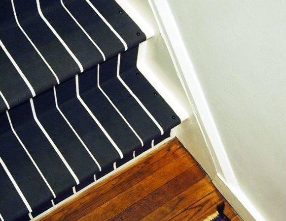 Runner Stairs Little Green Notebook Diy Stair