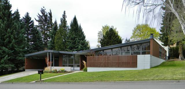 Rural Mid Century Modern Midcentury Exterior Seattle