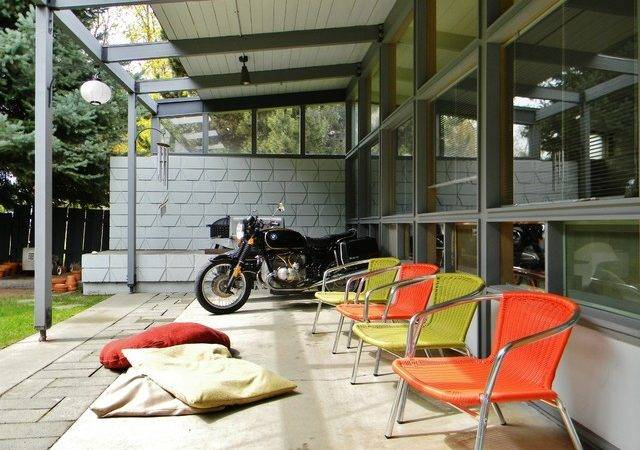 Rural Mid Century Modern Midcentury Patio Seattle Kimberley
