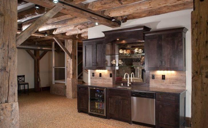 Rustic Bar Ideas Basement Designs Mulletcabinet