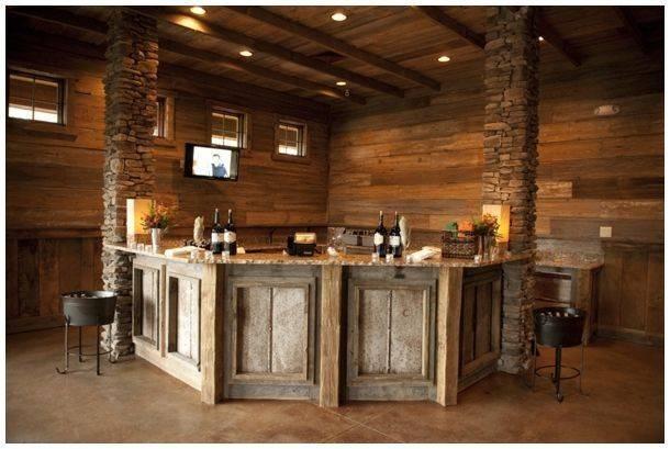 Rustic Bars House Ideas Mores Bar Basement Google Search