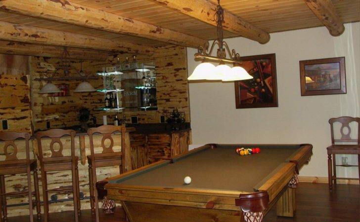 Rustic Basement Bar Designs Home