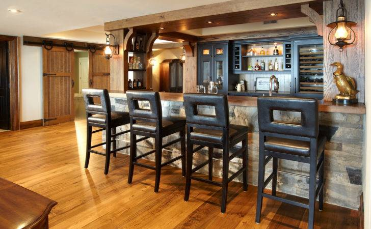 Rustic Basement Bar Designs Related Keywords Suggestions