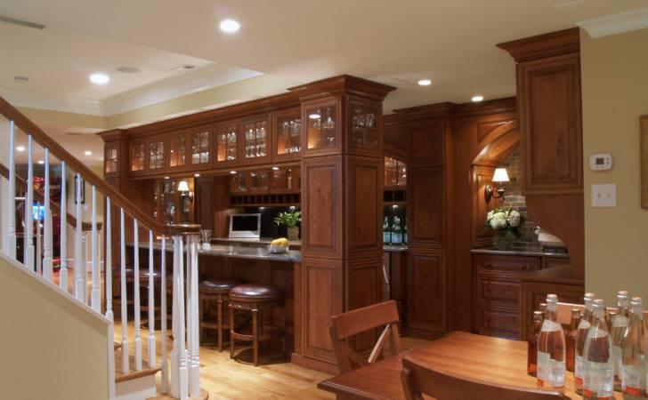 Rustic Basement Bar Ideas Further Design