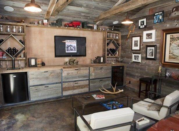 Rustic Basement Ideasrustic Lodge Style Traditional