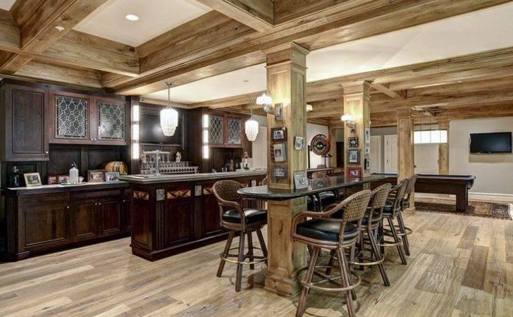 Rustic Basement Kitchen Decor Ideas Pinterest Floor