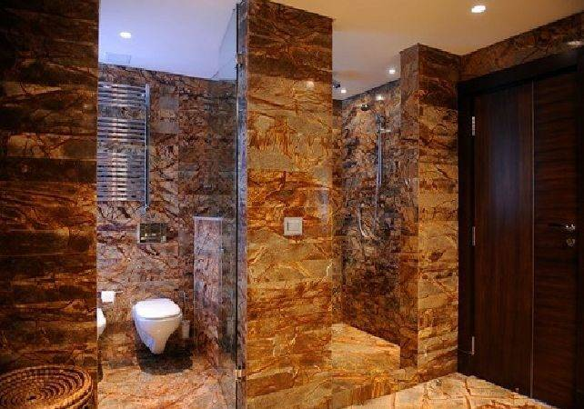 Rustic Bathroom Tiles