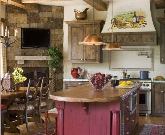 Rustic Butcher Block Countertop Home Design Ideas Remodel