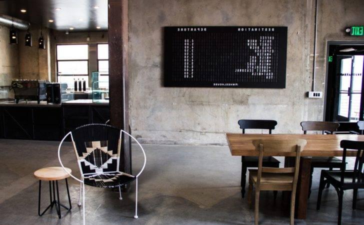 Rustic Cafe Interior Design Together
