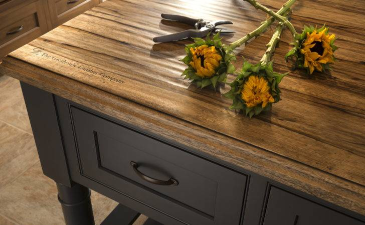 Rustic Countertop Hand Planed Distressing Designed Wood Mode