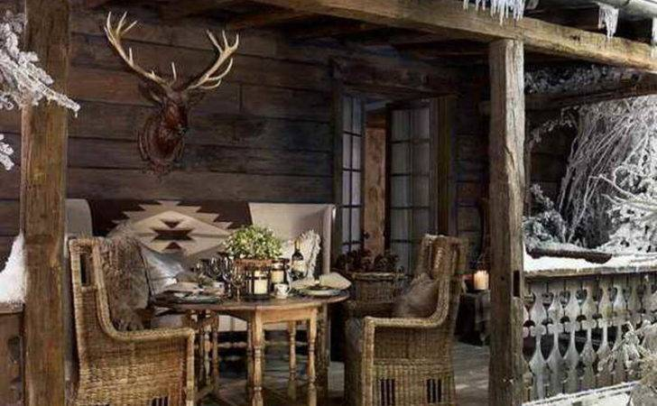 Rustic Country Home Porch Decor Ideas