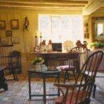 Rustic Country Style Kitchen Butter Yellow Walls Featured World