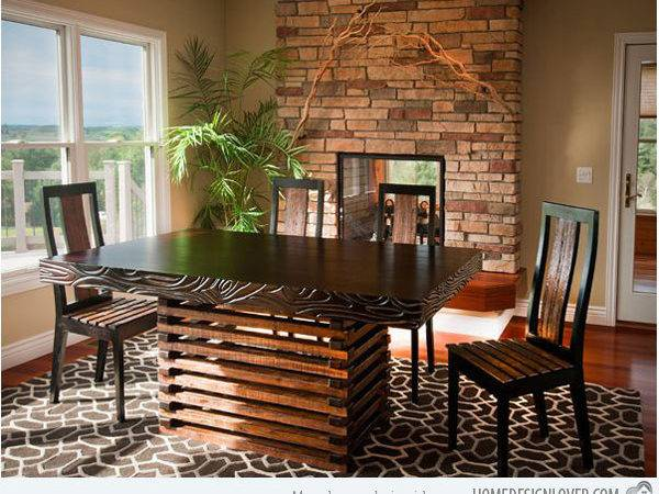 Rustic Dining Room Designs Home Design Lover