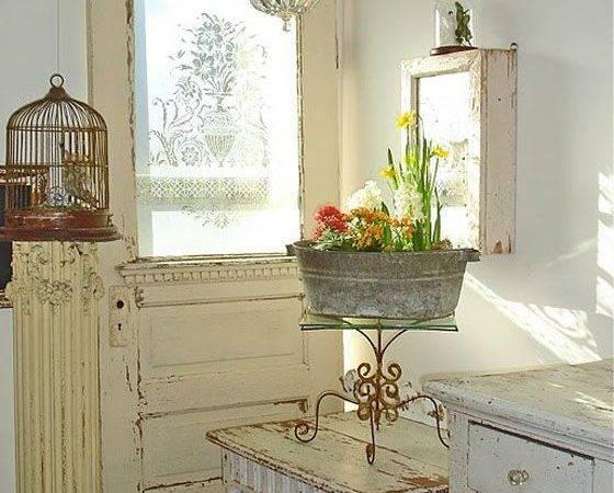 Rustic Farmhouse Decor Pretty Vignettes Vintage Pinterest