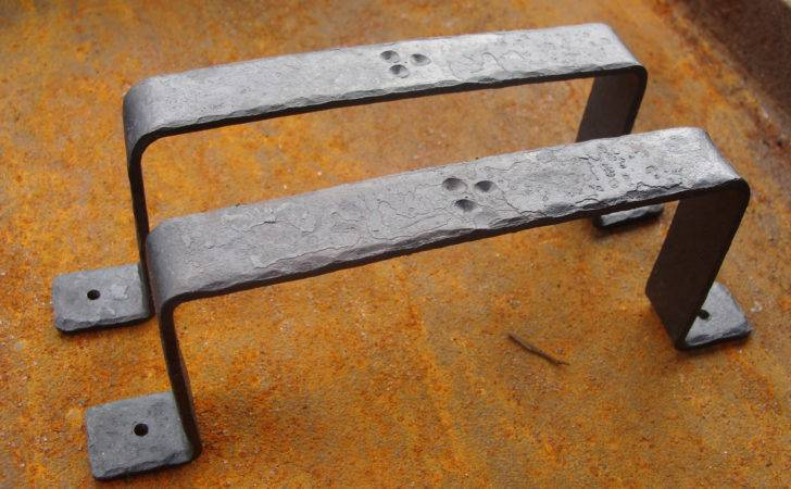 Rustic Hand Forged Drawer Door Pull Handles