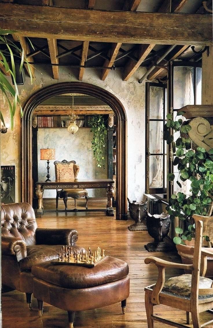 Rustic Inspired Interiors Cozy