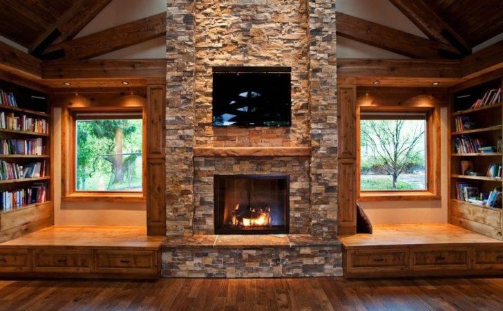 Rustic Interiors Modern Log Cabin Interior Homes Design