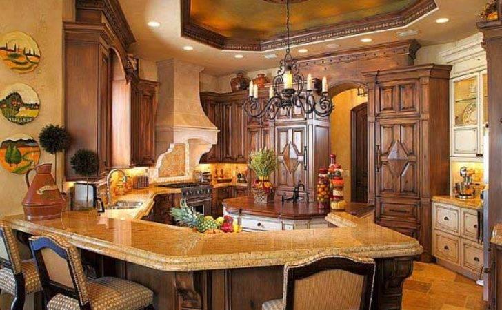 Rustic Kitchen Designs Mediterranean Design