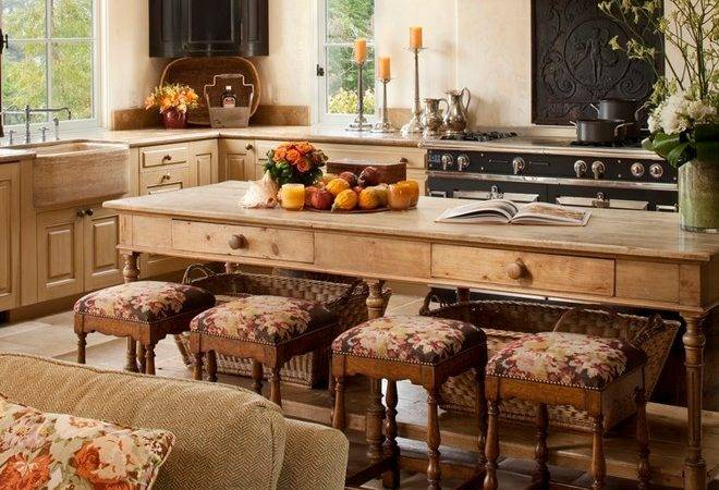 Rustic Kitchen Ideas Mediterranean Island