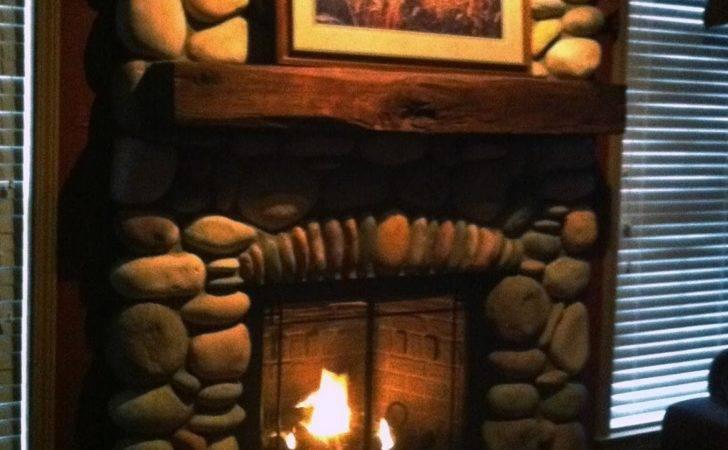 Rustic Lodge Look Gas Fireplace Mendota Book