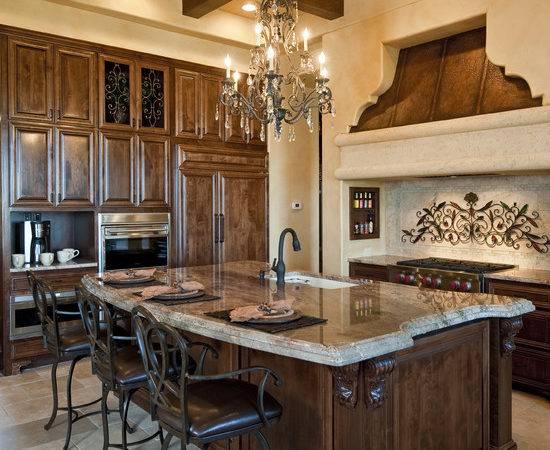 Rustic Mediterranean Kitchen Design