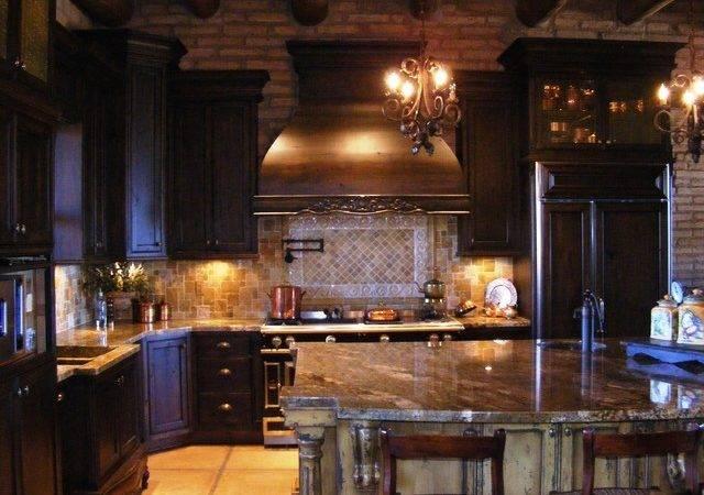Rustic Mediterranean Kitchen