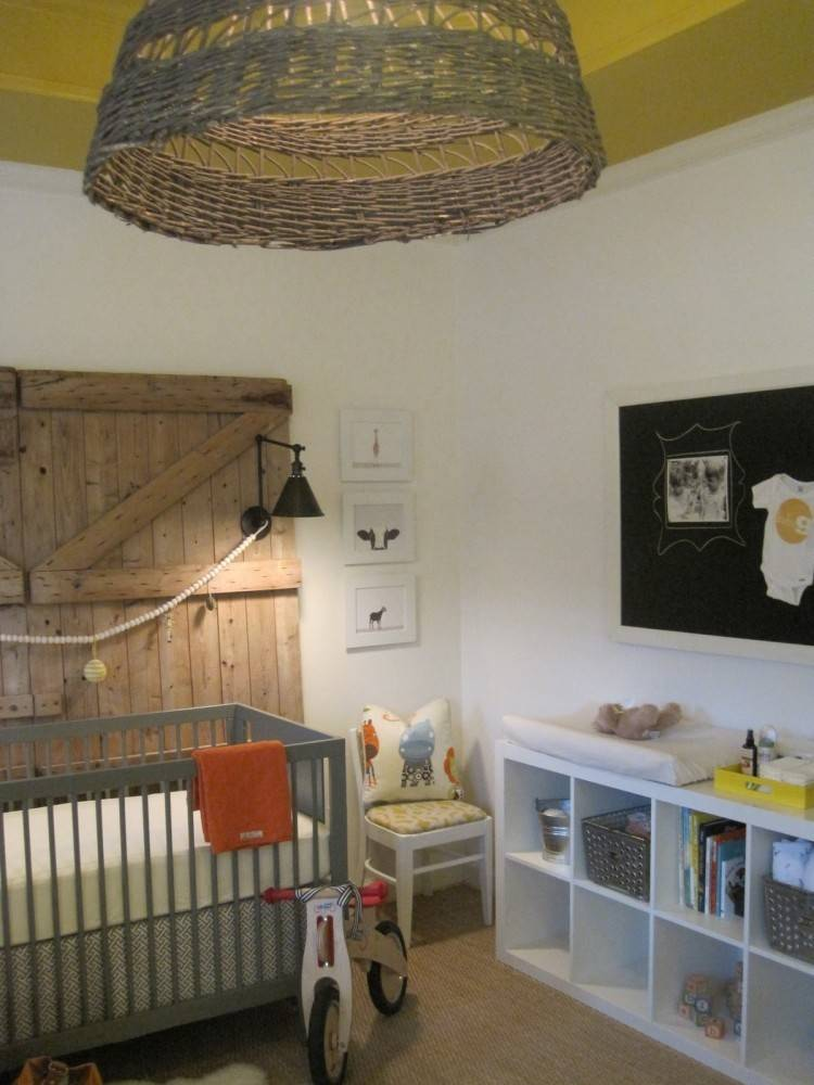 Rustic Modern Lighting Baby Room Kids Design Ideas