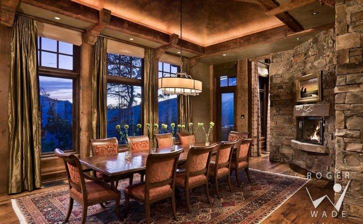 Rustic Mountain Home Designs Interior Design Plans