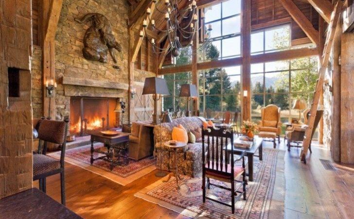 Rustic Mountain Home Interior Decor