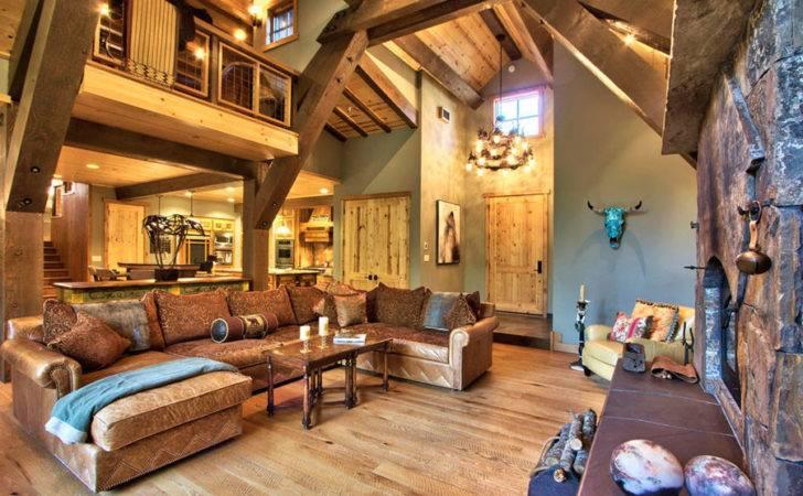 Rustic Mountain Home Interior Design Portfolio Pin