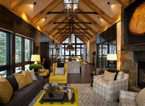 Rustic Mountain Style Lake Tahoe Dream Home Idesignarch Interior