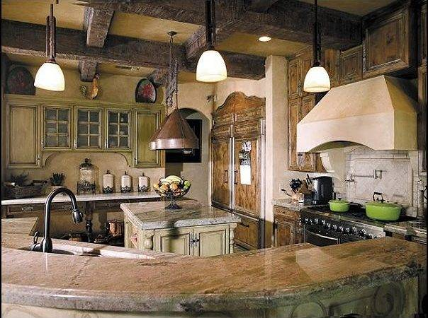 Rustic Style Kitchens Tuscan Country