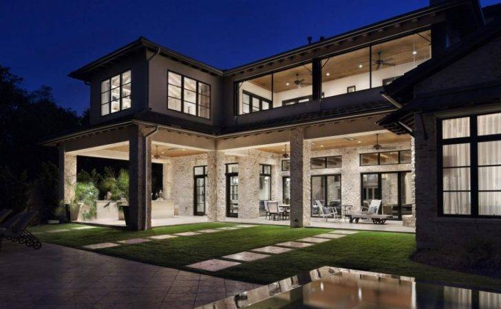 Rustic Texas Home Modern Design Luxury Accents