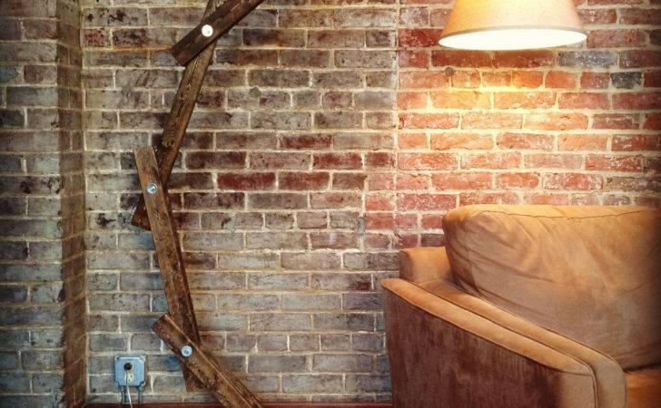 Rustic Wood Arc Floor Lamp Awalkthroughthewoods Etsy