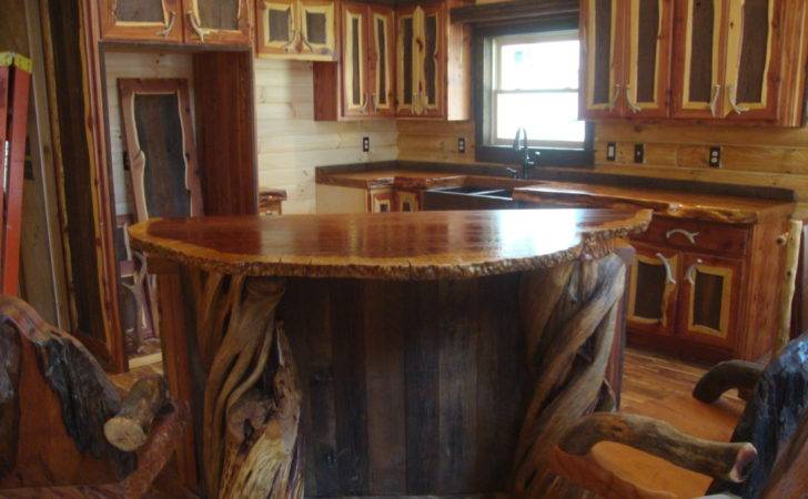 Rustic Wood Bar Tops Unique Counter Crafted Out Old