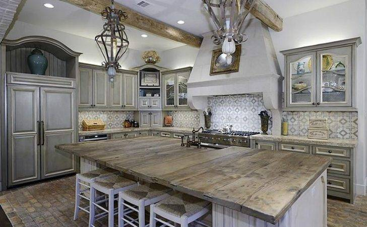 Rustic Wood Countertops Kitchen Ideas Pinterest