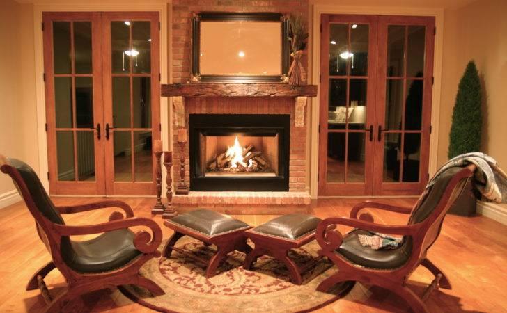 Rustic Wood Fireplace Log