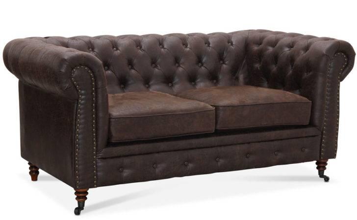 Rustik Chesterfield Pers Sofa Vintage Cambridge
