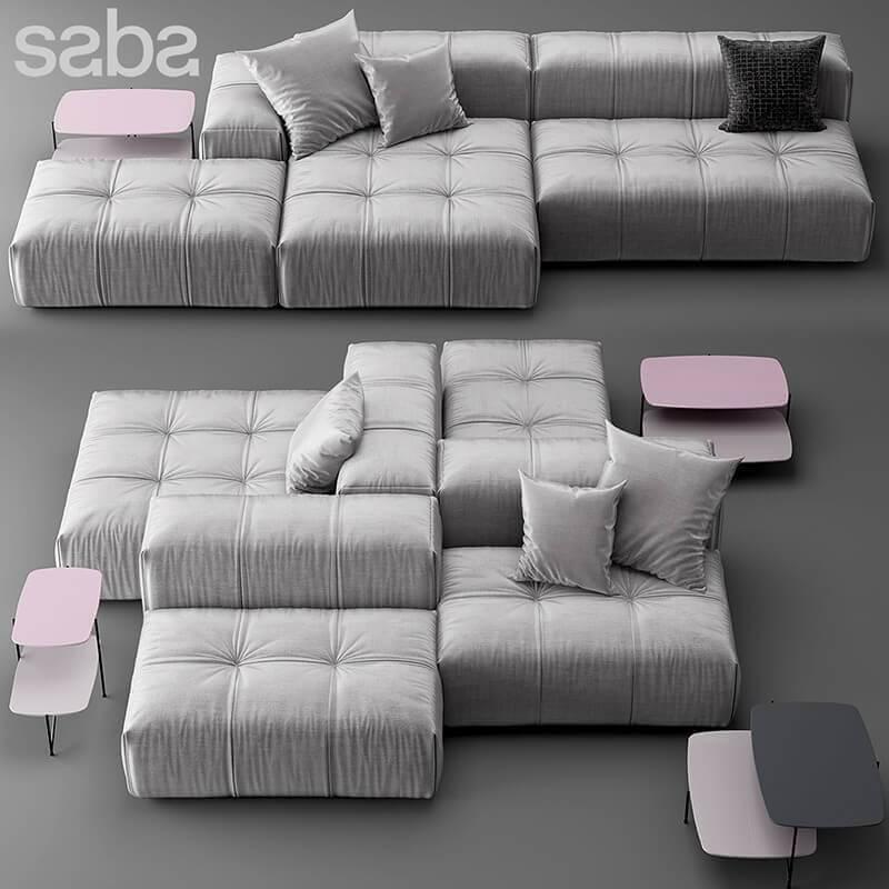Saba Italia Sofa Model Cgsouq