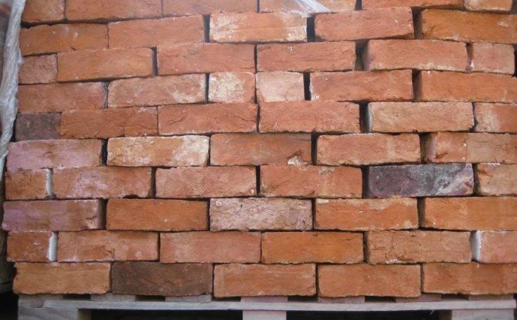 Sale Handmade Red Reclaimed Bricks